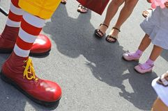 Free Clown Funny Choes Stock Image - 5825591