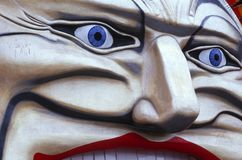 Clown-Gesicht Lizenzfreie Stockbilder
