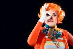 Clown girl Stock Photography
