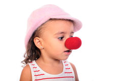 Clown girl Royalty Free Stock Photos