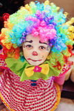 Clown girl stock images