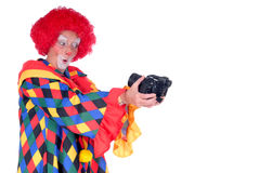 Clown, Halloween Lizenzfreies Stockbild