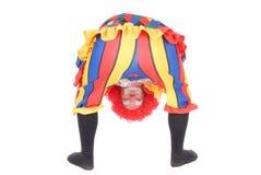 clown halloween Arkivfoton