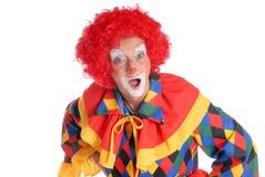 clown halloween Arkivfoto
