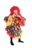 clown halloween Royaltyfri Bild
