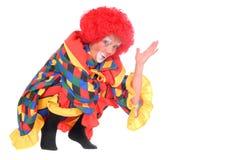 clown halloween Arkivbilder