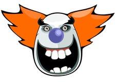 clown halloween royaltyfri illustrationer