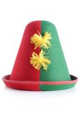Clown hat Royalty Free Stock Photo