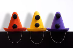 Clown hats Stock Photos