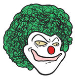 Clown head Royalty Free Stock Photos