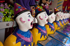Clown heads Royalty Free Stock Images