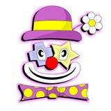 Clown heureux Images libres de droits