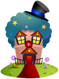 Clown House Stock Images