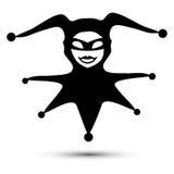 Clown joker. Logo, symbol, vector graphic icon Stock Photography