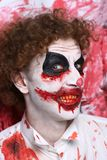Clown joker make up Royalty Free Stock Images