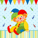 Clown joker vector Stock Photo