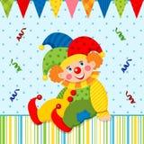Clown joker vector Stock Photo