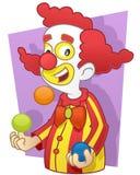Clown Juggler royalty free stock photo