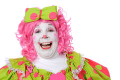 Clown Laughing Royalty Free Stock Photo
