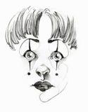 clown little Royaltyfria Bilder