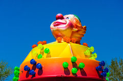 Clown luna park Stock Images