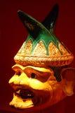 Clown Mask in Ramayana Stock Image