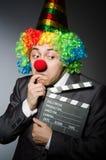 Clown met Royalty-vrije Stock Foto's