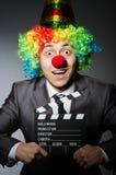 Clown met Royalty-vrije Stock Foto