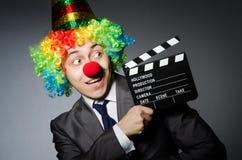 Clown met Royalty-vrije Stock Fotografie