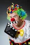 Clown met Stock Fotografie