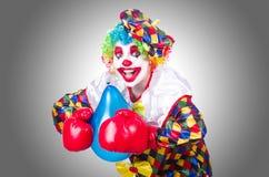 Clown met ballons Royalty-vrije Stock Foto's
