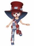 Clown mignon Photographie stock
