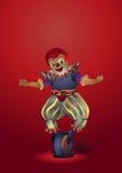 Clown. Moquerie de sacré et de profane. Images stock