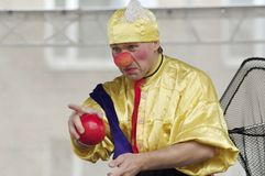 Clown N.Potemkin Stock Photos