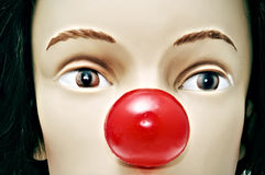 Clown nose Royalty Free Stock Image