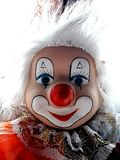 Clown. Paint, toys, child, funy Royalty Free Stock Image