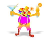 Clown party Royalty Free Stock Photo