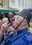 Clown PC Bluey Royalty Free Stock Photos