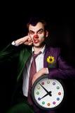 Clown perforé Image libre de droits
