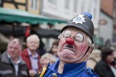 Clown  performing Stock Image