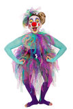 Clown posing Stock Photography