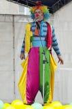 Clown Puzik, I.Somov Stock Photos