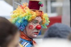 Clown Puzik, I.Somov Stock Image