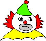 Clown. Sad clown Circus bright colors Stock Photography