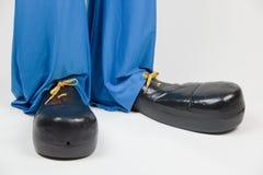 Clown-Schuhe Lizenzfreie Stockfotos