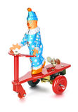 Clown scooter Stock Photography