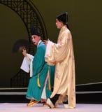 "The clown seduce-The niche Zhang Junrui-Kunqu Opera ""the West Chamber"" Royalty Free Stock Photo"