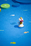 Clown seul et triste Photo stock