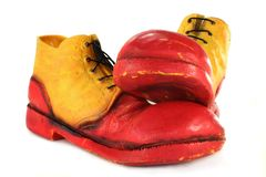 Clown Shoes Royalty Free Stock Photos