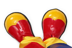 Clown shoes Royalty Free Stock Image
